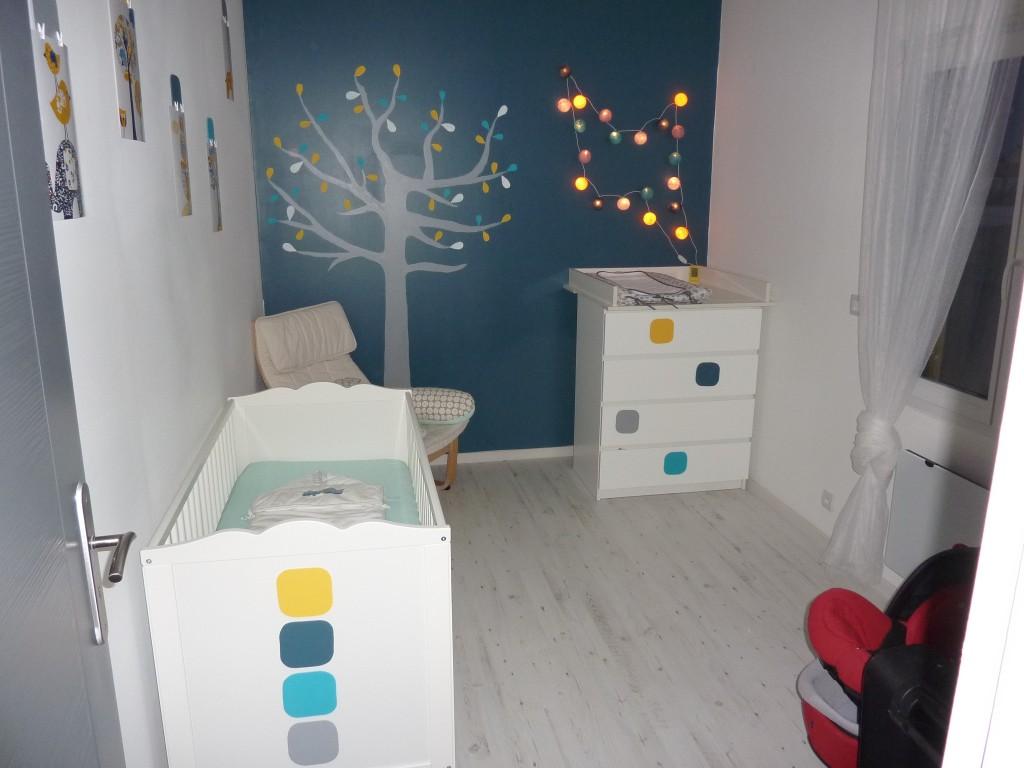 Chambre de b b la maison bois de pierrine et gilles - La chambre de bebe ...